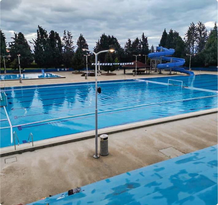 Plivačke staze za bazene i ograde za vaterpolo igrališta